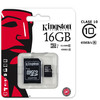 Tarjeta memoria 16GB CLASE 10 45MB/s kingston microsd 16 GB micro sd original