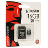 Tarjeta memoria 16GB kingston microsd 16 GB micro sd original schc