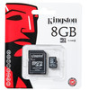 Tarjeta memoria 8GB kingston microsd 8 GB micro sd original schc