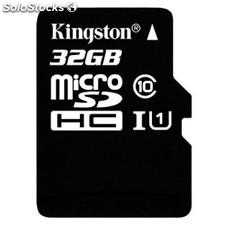 Tarjeta micro sd kingston SDC10G2/32GB 32GB clase 10