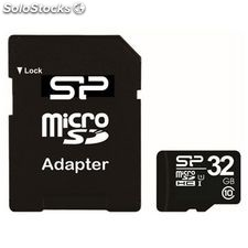 Tarjeta Micro sd Silicon Power MTMSDM0171 SP032GBSTH010V10SP hc 32 GB Clase 10