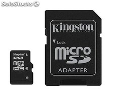 Tarjeta micro SDHC Kingston 32GB Clase 10 + adaptador