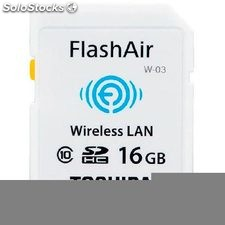 Tarjeta sd 16 GB Toshiba wifi flash air C10