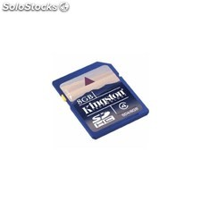 Tarjeta sd secure digital card kingston 8GB SD48GB