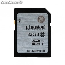 Tarjeta sdhc kingston - 32GB - clase 10 - 45MB/s