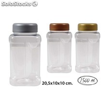 Tarro pet-pack 1500 surtido colores, wat, 1500ml.