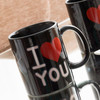 Tasse Magique Noire I Love You - Photo 1