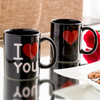 Tasse Magique Noire I Love You - Photo 3