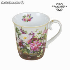 Taza bouquet natural - Colección Kitchen's Deco by Bravissima Kitchen