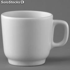 Taza cafe mug polar blanco