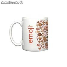 Taza candy white