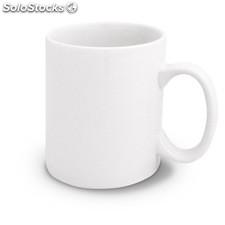 Taza ceramica no sublimable nieves blanca