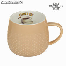 Taza coffee beige - Colección Kitchen's Deco by Bravissima Kitchen