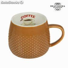 Taza coffee crema - Colección Kitchen's Deco by Bravissima Kitchen