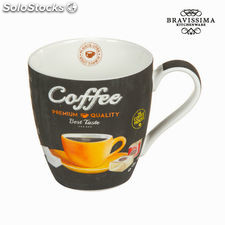 Taza coffee premium - Colección Kitchen's Deco by Bravissima Kitchen
