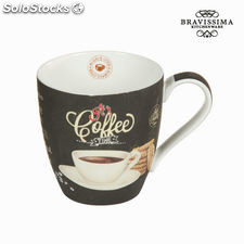 Taza coffee time - Colección Kitchen's Deco by Bravissima Kitchen