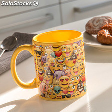 Taza Collage Emoticonos Gadget and Gifts