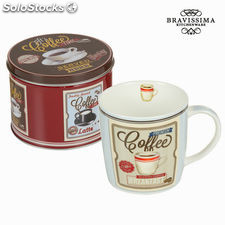 Taza con caja breakfast - Colección Kitchen's Deco by Bravissima Kitchen