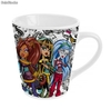 Taza Conica White Monster High