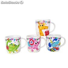 Taza de animales safari