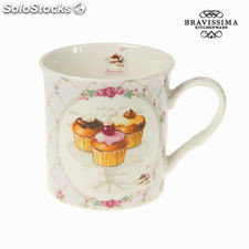 Taza de porcelana sweet - Colección Kitchen's Deco by Bravissima Kitchen