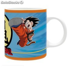 Taza Dragon Ball Goku y Krilin