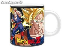 Taza dragon ball super saiyans PLL02-TZABYMUG356