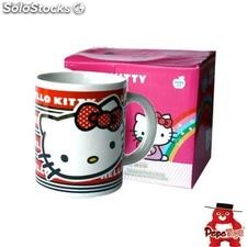 Taza en Caja Regalo Hello Kitty.