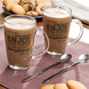 Taza Enjoy Your Coffee con Cucharilla (pack de 2) - Foto 1