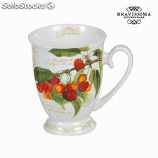 Taza fruits garden - Colección Kitchen's Deco by Bravissima Kitchen