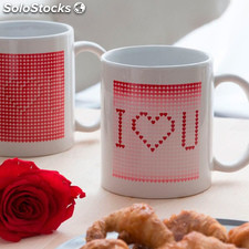 Taza Mágica Blanca I Love You