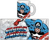 Taza marvel capitan america retro