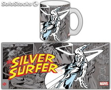 Taza Marvel Silver Surfer Retro