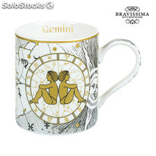 Taza Mug Géminis - Colección Kitchen's Deco by Bravissima Kitchen