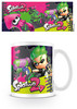 Taza squid shot (Splatoon 2) 320ml