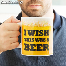 Taza XL I Wish This Was a Beer Gadget and Gifts