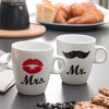 Tazas Mr & Mrs Individuales