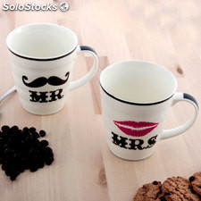 Tazas Mr & Mrs (New Design)
