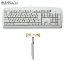 Teclado A4tech AntiRSI PS/2 Esp Beige