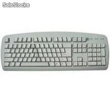 Teclado A4Tech PS/2 Ing Gris