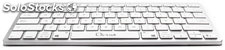 Teclado bluetooth blanco ll-kb-6110