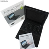 Teclado Bluetooth Funda de piel para el iPhone de Apple ipad2 - Foto 2