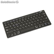 Teclado Bluetooth iggual IGG315279 3.0 28,5 x 12 x 2,2 cm Negro Tablet