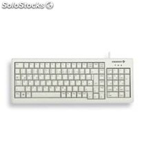 Teclado cherry slim reducida numerico PS2/usb blanco