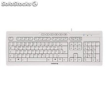 Teclado cherry stream 3.0 usb ultraplano