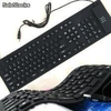 Teclado flexible de silicona usb