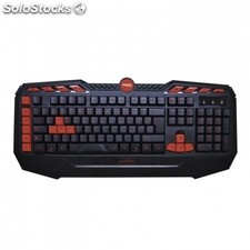 Teclado gaming approx appdroid - plug and play - 8 teclas multimedia - 8 teclas