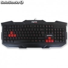 Teclado gaming APPROX appwrath - 8 teclas gaming rojas - plug and play - cable