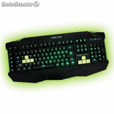 Teclado gaming keep-out f110 - mecanico - 110 teclas -