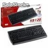 Teclado genius kb-120 black/ps2